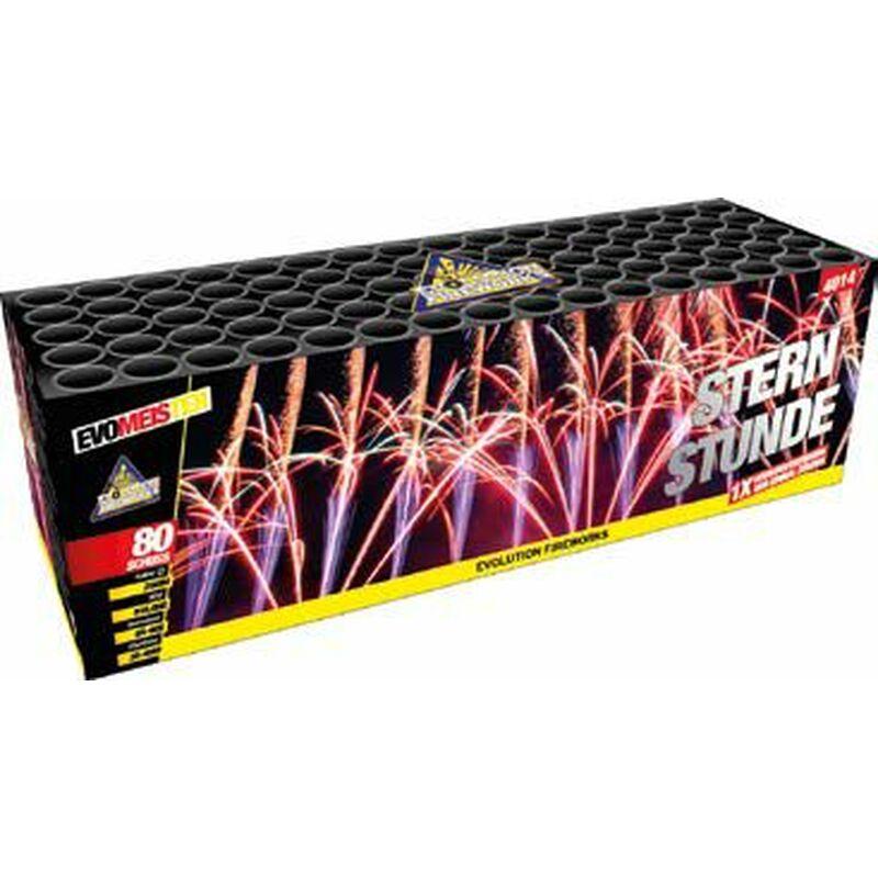 Sternstunde 80-Schuss-Feuerwerk-Batterie von Evolution Fireworks kaufen