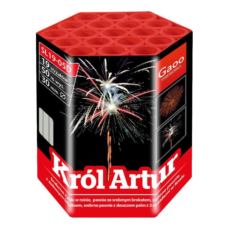 King Artur 19-Schuss-Feuerwerk-Batterie von Gaoo kaufen