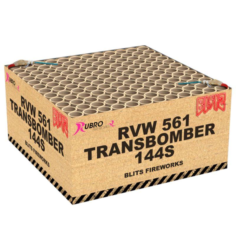 Transbomber 144-Schuss-Feuerwerkverbund von Geisha-Rubro kaufen